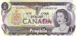 Kanada Pick-Nr: 85c Bankfrisch 1973 1 Dollar - Kanada