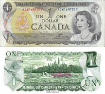 Kanada Pick-Nr: 85a Bankfrisch 1973 1 Dollar - Kanada