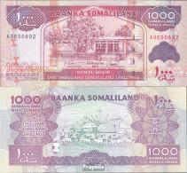 Somaliland Pick-Nr: 20a Bankfrisch 2011 1.000 Shillings - Somalia