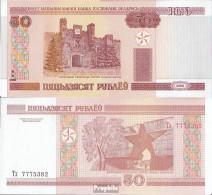 Weißrussland Pick-Nr: 25b Bankfrisch 2010 50 Rublei - Belarus