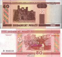Weißrussland Pick-Nr: 25a Bankfrisch 2000 50 Rublei - Belarus