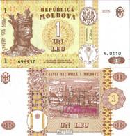 Moldawien Pick.Nr: 8g Bankfrisch 2006 1 Leu - Moldawien (Moldau)