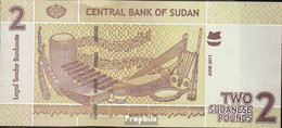 Sudan Pick-Nr: 71 Bankfrisch 2011 2 Pound - Sudan