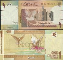 Sudan Pick-Nr: 64a Bankfrisch 2006 1 Pound - Soudan