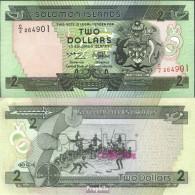 Salomoninseln Pick-Nr: 18 Bankfrisch 1997 2 Dollars - Solomonen