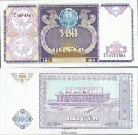 Usbekistan Pick-Nr: 79a Bankfrisch 1994 100 Sum - Usbekistan
