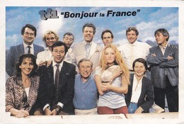 PUB.  TF1--bonjour La France--jean-claude Bourret--voir 2 Scans - Spectacle