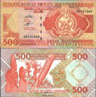 Vanuatu Pick-Nr: 5b (2006) Bankfrisch 2006 500 Vatu - Vanuatu