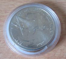 """Marshall Islands / Îles Marshall - 5 Dollars 1989 """"First Men On The Moon"""" - Cupronickel - Belle épreuve/proof - Islas Marshall"""