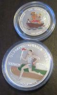 Corée Du Nord - 2 Monnaies Commémoratives 500 Et 100 Won En Argent 999‰ - 1995 Et 1996 - Colorisées - Proof - Korea, North