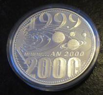 France - Monnaie/Médaille Frappe Du Siècle An 2000 - Belle épreuve / Proof - Argent 1er Titre - 1999 Exemplaires - Commémoratives