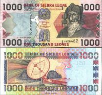 Sierra Leone Pick-Nr: 24c Bankfrisch 2006 1.000 Leones - Sierra Leone