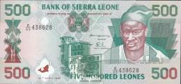 Sierra Leone Pick-Nr: 23a Bankfrisch 1995 500 Leones - Sierra Leone