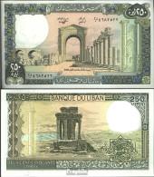 Libanon Pick-Nr: 67e (1988) Bankfrisch 1988 250 Livres - Libanon