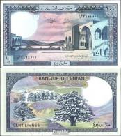 Libanon Pick-Nr: 66d Bankfrisch 1988 100 Livres - Libanon