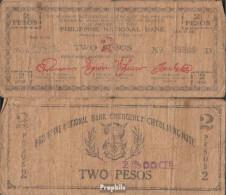 Philippinen Pick-Nr: S577a Stark Gebraucht (IV) 1942 2 Pesos - Philippinen