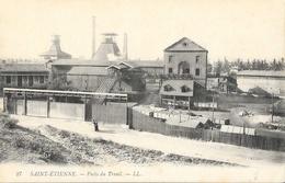 St Saint-Etienne - Puits Du Treuil - Carte LL N° 27 Non Circulée - Saint Etienne