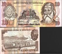 Honduras Pick-Nr: 82d Bankfrisch 2000 10 Lempiras - Honduras