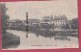 25 - MONTBELIARD--L'Allan Et Le Chateau - Montbéliard