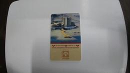 Israel-hotey Key-(433)-hod Hamidbar-hotals-(looking Out Side)-used+1card Prepiad Free - Hotelkarten