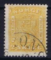 Norway: Mi 6 Obl./Gestempelt/used  1863 - Gebraucht