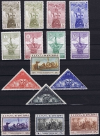 Spain: Ed 531 - 545 Mi 502 - 516 MNH/** Neuf Sans Charnière  Postfrisch   1930 25 Ct Has A Thin Spot - Ungebraucht
