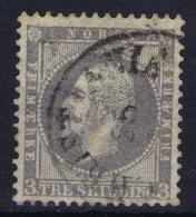 Norway:  Mi  3 Obl./Gestempelt/used  1856 - Gebraucht