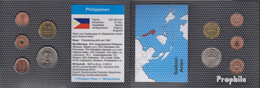 Philippinen Stgl./unzirkuliert Kursmünzen Stgl./unzirkuliert 1995-2000 1 Sentimo Bis 1 Peso - Philippinen