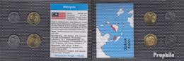 Malaysia Stgl./unzirkuliert Kursmünzen Stgl./unzirkuliert 2012- 5 Sen Bis 50 Sen - Malaysia
