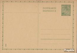 Böhmen Und Mähren P10 Amtliche Postkarte Ungebraucht 1940 Lindenzweig - Böhmen Und Mähren