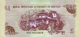 BHUTAN P. 28c 5 N 2015 UNC (2 Billets) - Bhutan