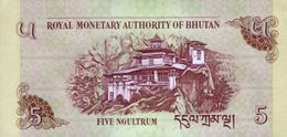 BHUTAN P. 28c 5 N 2015 UNC (2 Billets) - Bhután