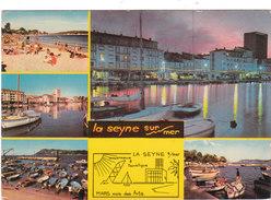 Carte Postale Des Années 70-80 Du Var - La Seyne Sur Mer - Vues Multiples - La Seyne-sur-Mer