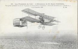 Les Pionniers De L'Air - L'Aéroplane De M. Henri Farman - Grand Prix D'Aviation Deutsch-Archdeacon Janvier 1908 - ....-1914: Précurseurs