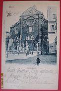 BARI - CATTEDRALE, VIAGGIATA 1900 - Bari