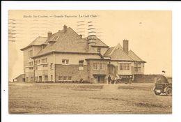 Rhode-St-Genèse  ( M 3506 )  2 Voiture Ancienne Devant Le Golf-Club - Rhode-St-Genèse - St-Genesius-Rode