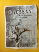 5948 - Baussan Villette 1996 Stephan & Drina Monnier Grandvaux Suisser - Etiquettes