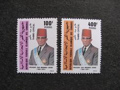Comores: TB Paire De Services N° 8 Et N° 9, Neufs XX. GT. - Comores (1975-...)
