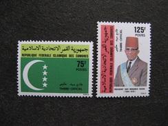 Comores: TB Paire De Services N° 10 Et N° 11, Neufs XX. GT. - Comores (1975-...)