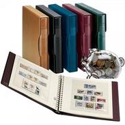 Lindner 146-13-1124V Great Britain - Illustrated Album Pages Year 2013-2014, Incl. Ring Binder Set (Order-No. 1124) - Albums & Binders