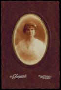 Photo 16.5 X 11 - Portrait De Femme Béatrice Guyader Par Esquiro à Bordeaux Années 1900 --- Del015b - Identified Persons