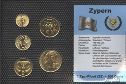 Zypern Stgl./unzirkuliert Kursmünzen Stgl./unzirkuliert 1994-2004 1 Cent Bis 20 Cent - Zypern