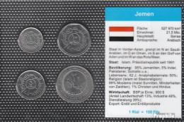 Jemen (Republik) Stgl./unzirkuliert Kursmünzen Stgl./unzirkuliert 1993-2004 1 Rial Bis 20 Rials - Jemen