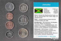 Jamaica Stgl./unzirkuliert Kursmünzen Stgl./unzirkuliert 1987-2008 1 Cent Bis 20 Dollars - Jamaica