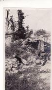 Photo Août 1919 Près Le Chemin Des Dames - Mitrailleuse Allemande, MG (A184, Ww1, Wk 1) - Weltkrieg 1914-18