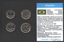 Brasilien Stgl./unzirkuliert Kursmünzen Stgl./unzirkuliert 1993-1994 5 Centavos Bis 100Centavos - Brasilien