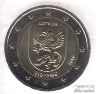 Lettland 2016 Stgl./unzirkuliert Auflage: 1 Mio. Stgl./unzirkuliert 2016 2 Euro Vidzeme - Letonia