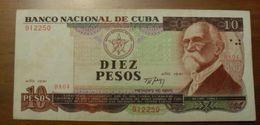 1991 - Cuba - DIEZ PESOS - DA04 912250 - Cuba