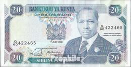 Kenia Pick-Nr: 25c Bankfrisch 1990 20 Schillings - Kenia