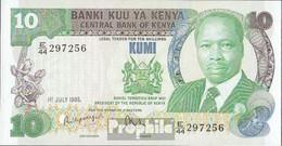 Kenia Pick-Nr: 20d Bankfrisch 1985 20 Shillings - Kenia